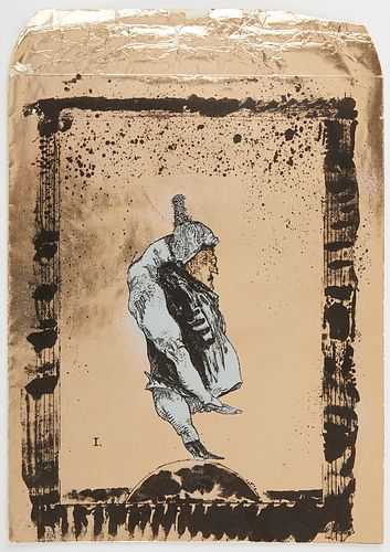 "Jose Luis Cuevas ""The Magician's Message"" Portfolio 1971"
