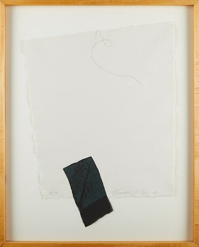 """Thomas Rose """"Objects Indicating Certain Directions"""" Collage 1978"""