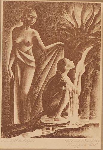 Grp: 5 Female Figure Prints - Molder Leavitt