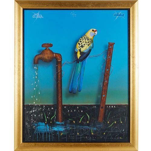 Graeme Townsend, oil on canvas, 1992