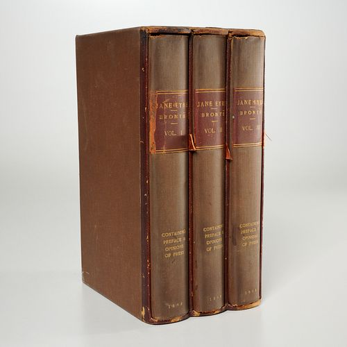 Bronte (as Currer Bell), Jane Eyre 2nd ed., 1848