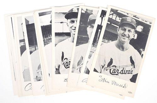 1959 St. Louis Cardinals Player Photo Cards