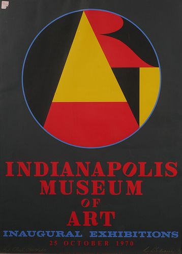 ROBERT INDIANA, Serigraph Poster