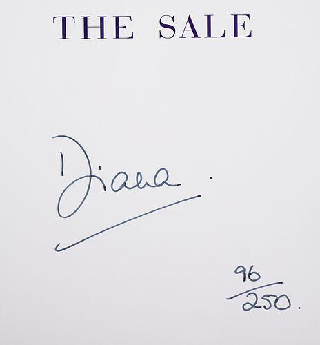 Princess DIANA Signed