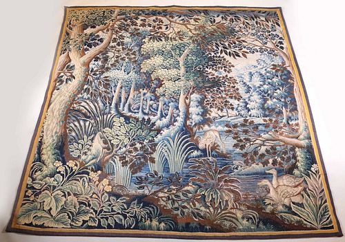 Baroque Needlepoint Tapestry