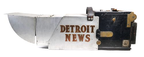 Big Bertha 5x7 Press Graflex Detroit News Camera