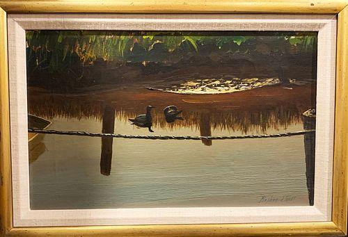 Stephen Morgan Etnier (1903-1984) Morining - Oil