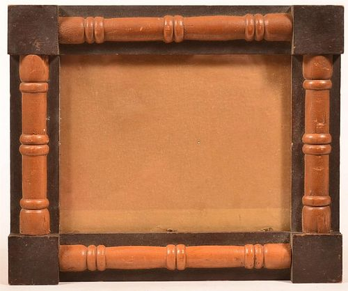 19th Century Softwood Picture Frame.