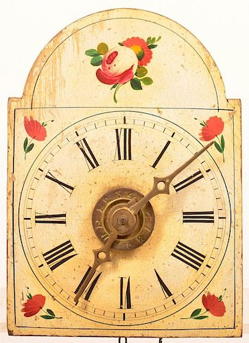 Small 19th Century Wag-on-wall Clock.