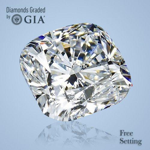 2.01 ct, G/VS2, Cushion cut GIA Graded Diamond. Appraised Value: $45,700