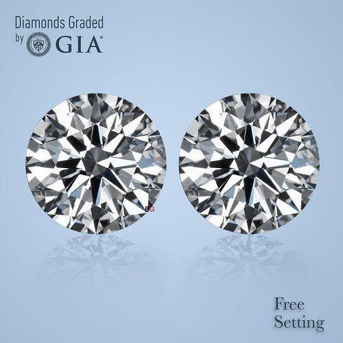 10.16 carat diamond pair Round cut Diamond GIA Graded 1) 5.08 ct, Color D, FL 2) 5.08 ct, Color D, FL. Appraised Value: $3,383,400
