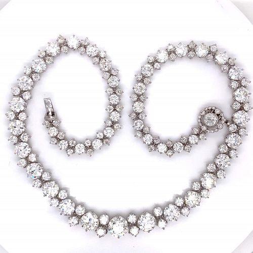 46.34 Ct. Diamond Necklace