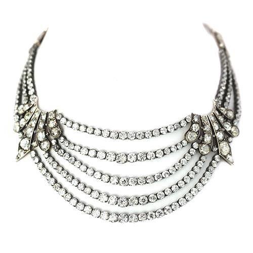 110 Ct. Diamond Necklace