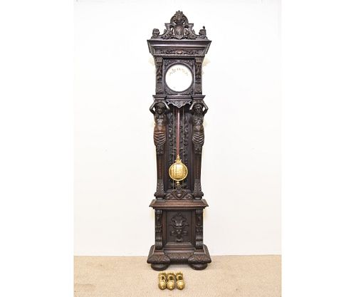 German 8-Day Tall Case Clock