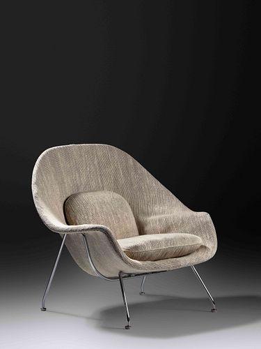 Eero Saarinen(Finnish/American, 1910-1961)Womb Chair, c. 1950s