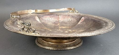 Sterling Silver Tray with Handle