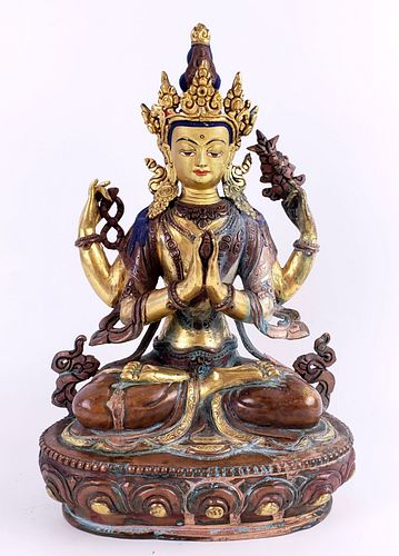 Tibetian Figure of a Deity