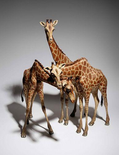 Jean-Francois Fourtou (French, b. 1964) Untitled (Three Giraffes), 1999