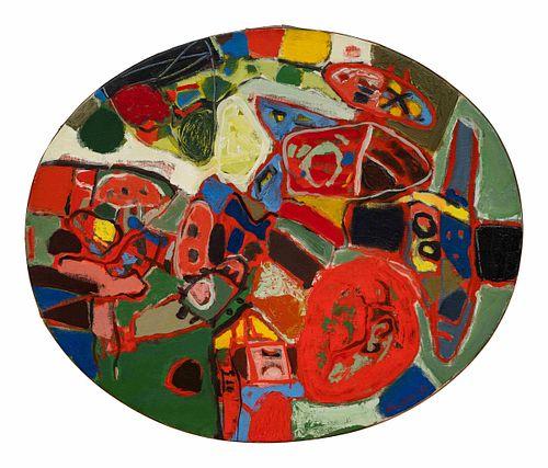 Corneille (Cornelis van Beverloo) (Belgian, 1922-2010) Souverainement l'Ete . . ., 1962
