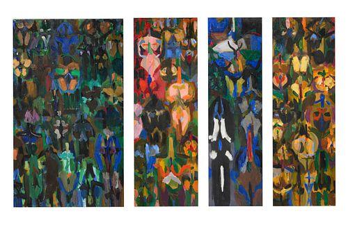 Irving Kriesberg (American, 1919-2009) Maternal Visions,c. 1950s