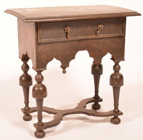 William and Mary Style Miniature Lowboy.