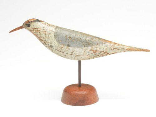 Extremely rare working tern decoy, Daniel Demott, East Rockaway, New York , last quarter 19th century.