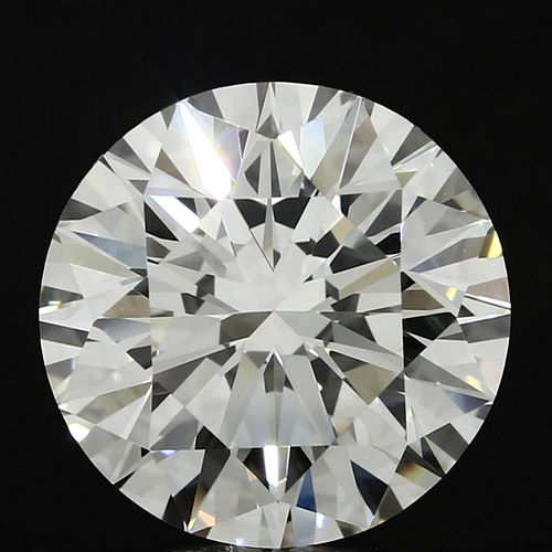 5.67 ct., J/VVS2, Round cut diamond, unmounted, PP9883