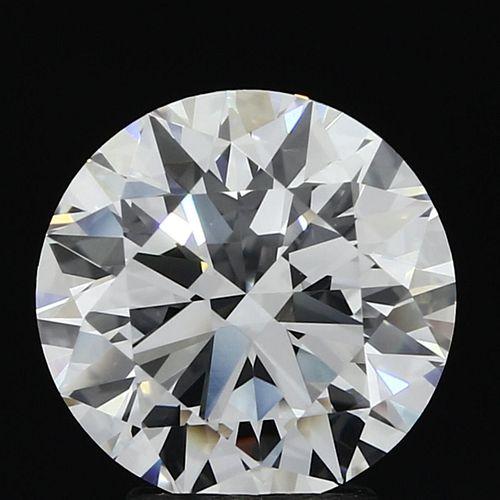 3.51 ct., D/VVS1, Round cut diamond, unmounted, MGS-089