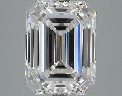 5.03 ct., D/VS2, Emerald cut diamond, unmounted, IM-53-234-02