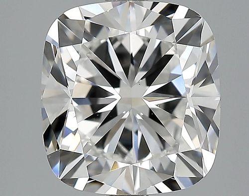 5.01 ct., F/VS1, Cushion cut diamond, unmounted, IM-585-004