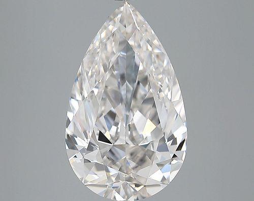 5.31 ct., H/IF, Pear cut diamond, unmounted, PK1675