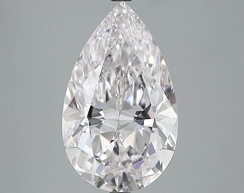 5.12 ct., E/VVS1, Pear cut diamond, unmounted, PK2166