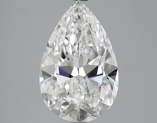 5.02 ct., D/VVS2, Pear cut diamond, unmounted, LM-0219