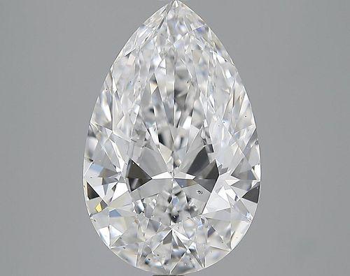 5.01 ct., D/SI1, Pear cut diamond, unmounted, PK2178