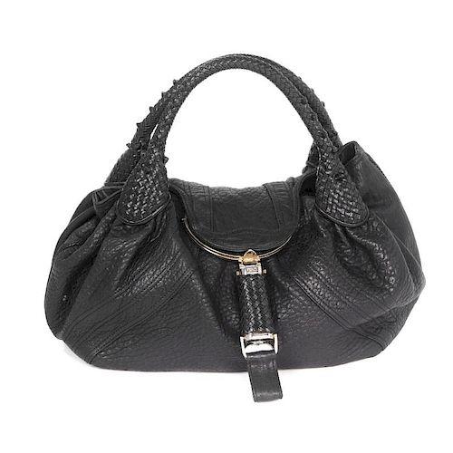 FENDI - a Spy Bag. Designed with a soft black leather exterior ... 829020e246cac