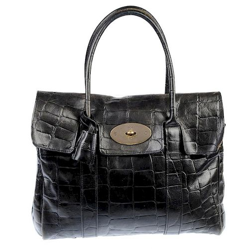 bd0ca0c078a MULBERRY - a Bayswater Bag. Crafted of chocolate Congo leather ...