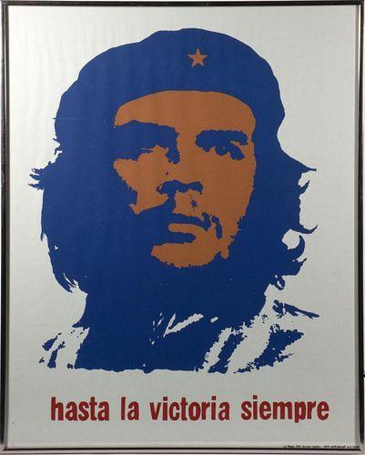 Che Guevara-Hasta La Victoria Siempre Poster