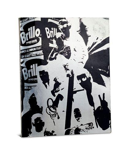 Warhol, Andy Index (book) with the assistance of S. Shore, P. Morissey, Ondine, Nico. Mit 10 einmont. Original-Objekten, bzw. farb. Klapp-Kulisse u.ä.