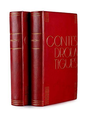 Balzac, Honoré de Die dreissig tolldreisten Geschichten genannt Contes Drolastiques. Mit 425 Holzsstiche nach Zeichnungen von Gustave Doré. Übertragen