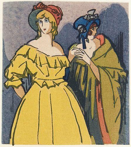4 illustrierte französische Werke.