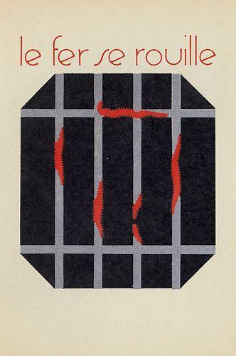 Doucet, Jerome Les Choses meurent. Mit 13 Pochoir-Kompositionen von Léon Raffin, teils mit händischen Silberhöhungen. Paris, À la Librairie de Lucien