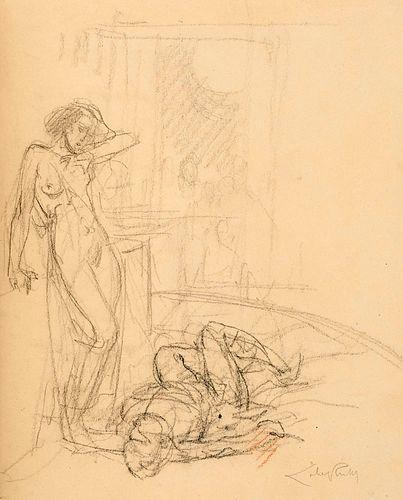 Wilde, Oscar Salomé. Mit zwei Originalzeichnungen, 20 Original-Radierungen und 4 Extrasuiten (état noir, état en noir avec remarque, état en sanguine