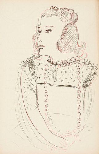 Poèmes de Charles d'Orléans. Manuscrits et illustrés par H. Matisse. Mit 100 Original-Farblithographien von H. Matisse. Paris, Tériade, 1950. 100 S.