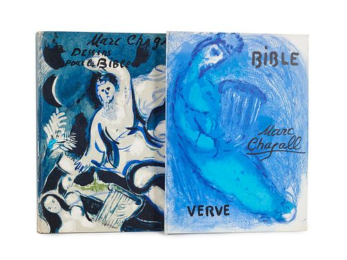 Chagall, Marc Zwei Ausgaben der Verve, Revue Artistique et Litteraire: Bible u. Dessins pour la Bible. Mit zahlreichen Abbildungen. Paris, Edition de