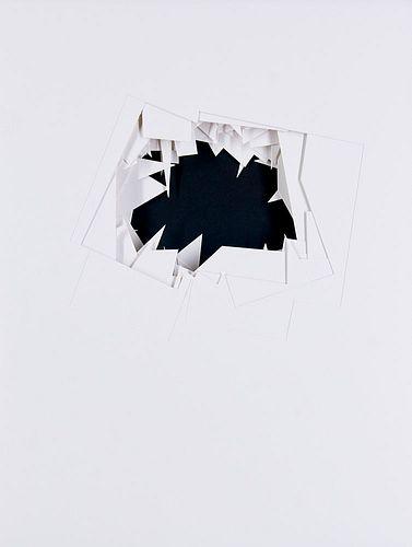 Knoebel (d.i. Wolf Knöbel), Imi Mennigebilder. Portfolio mit 54 Scherenschnitten und einem Beiheft. Lose Blatt in Orig.-Kassette. Hamburg, Deichtorhal