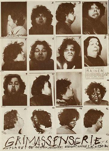 Naumann, Bruce Sammlung von 13 Künstlerplakaten. Offsett. Ca. 42 x 28 bis 60 x 80 cm.
