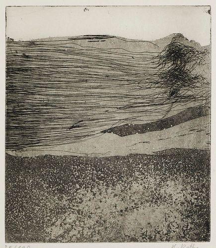 Bense, Max Existenzmitteilung aus San Franzisko. Mit 1 Handzeichnung und 3 Radierungen von Helgart Rothe. Köln, Wolfgang Hake, 1970. 4°. OBroschur (le