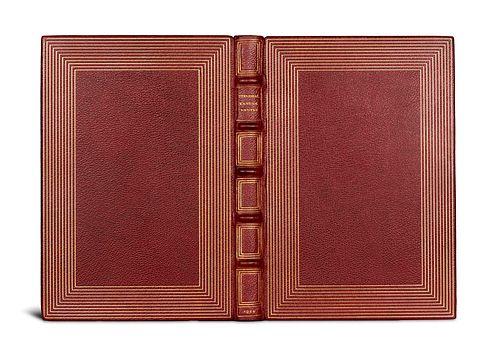 """Stendhal (d.i. H. Beyle) """"Vanina Vanini. Mit 12 (10 sign. und ganzseit.) ORadierungen von K. M. Schultheiß. Wien/Hellerau, Avalun, 1922. 86 S., 3 Bll."""