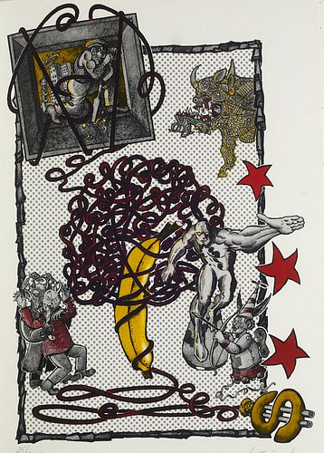Sammlung von 13 Künstlerbüchern der Edition Dschamp der Galerie auf Zeit. Mit OGraphiken und OPhotographien. Berlin, 1993-2008. Überwiegend im Druck