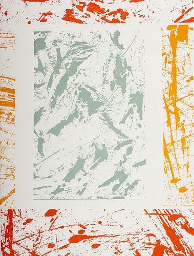 Apollinaire, Guillaume Le ... Poème Secret à Madeleine. Mit farbigen Metallschnitten nach Pinselzeichnungen von Gunnar Kaldewey. New York, Kaldewey Pr